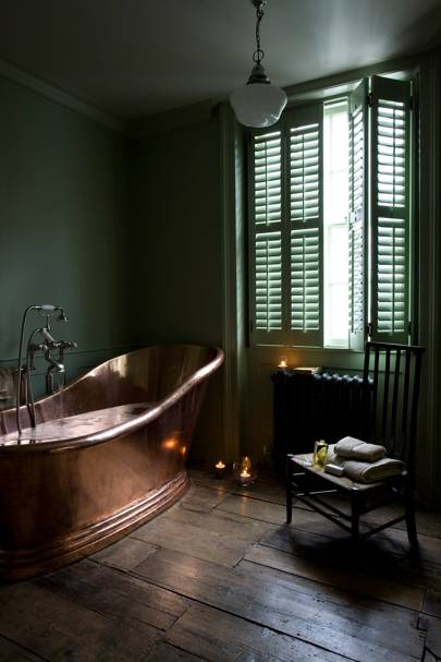 Copper Bathtub