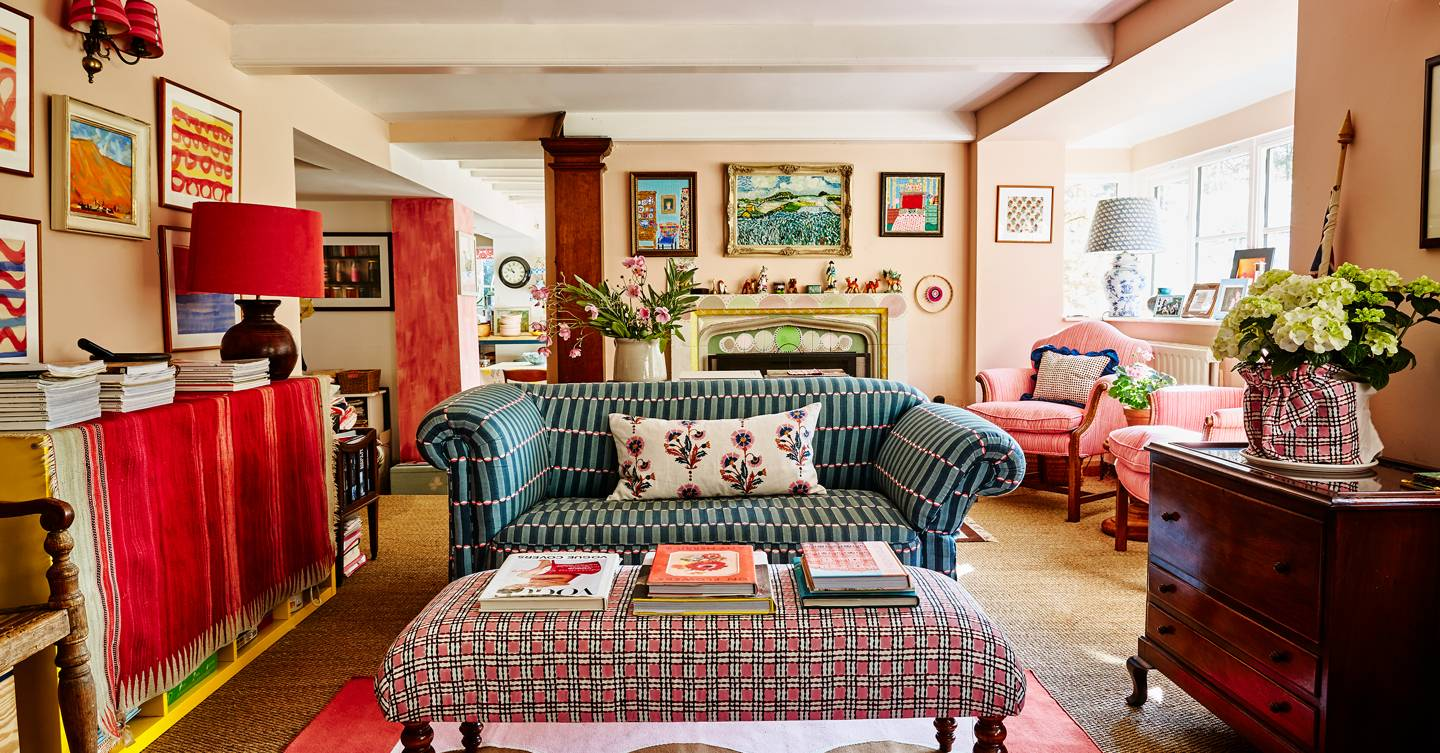 Molly Mahon's joyful, colourful Sussex cottage