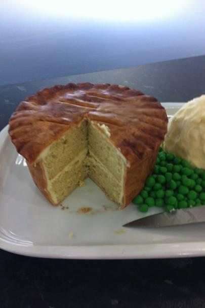 Pie and Mash Cake