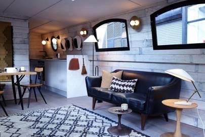 Barge Living Room