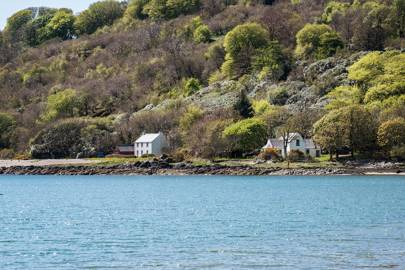Shore cottage, Saddell, Kintyre, Argyll and Bute