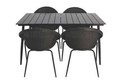 Jarvis 5 Piece Patio Set