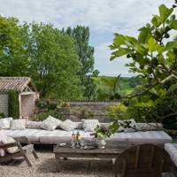 Outdoor Sitting Area - French Farmhouse