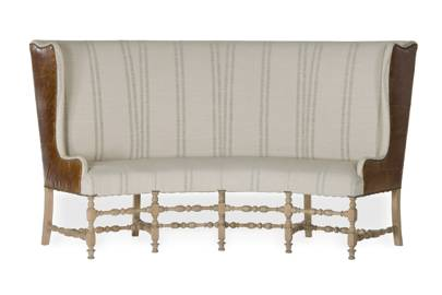 Banquette settee