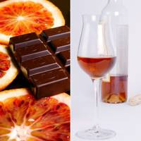 Orange Chocolate and Dessert Wine