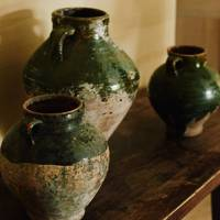 Earthenware Pottery - Belgian Family Home & Alps Chalet