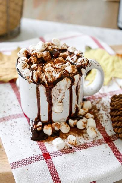 Spiced Red Wine Hot Chocolate