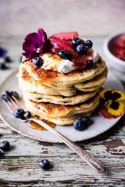 Rhubarb - Pancake Toppings