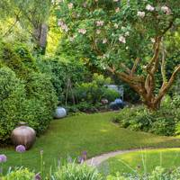Small Garden Ideas Small Garden Design House Garden - Small-gardens-idea