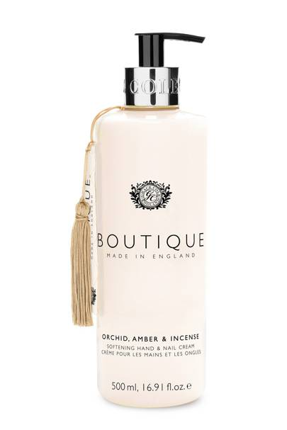August 10: Boutique Orchid, Amber & Incense Hand & Nail Cream, £6