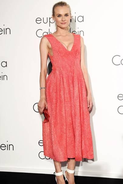 Diane Kruger Pink Dress