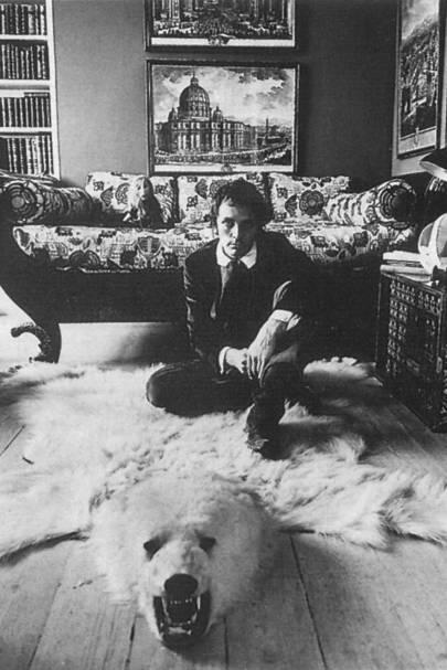 Gentleman's set for Terence Stamp, London (1964)