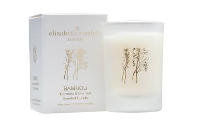 July 23 : Elizabeth Scarlett Bambou & Sea Salt Mini Candle, £12