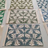 Spotted: Cambridge Imprint prints at The William Morris Gallery