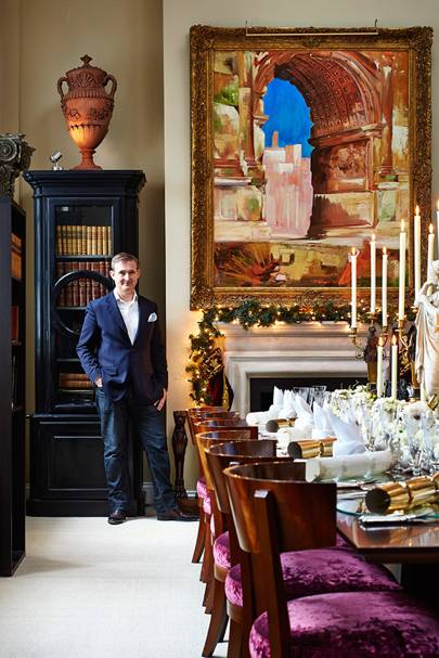 Venetian Opulence - Tim Gosling - Interior Designers' Christmas Tables | Christmas
