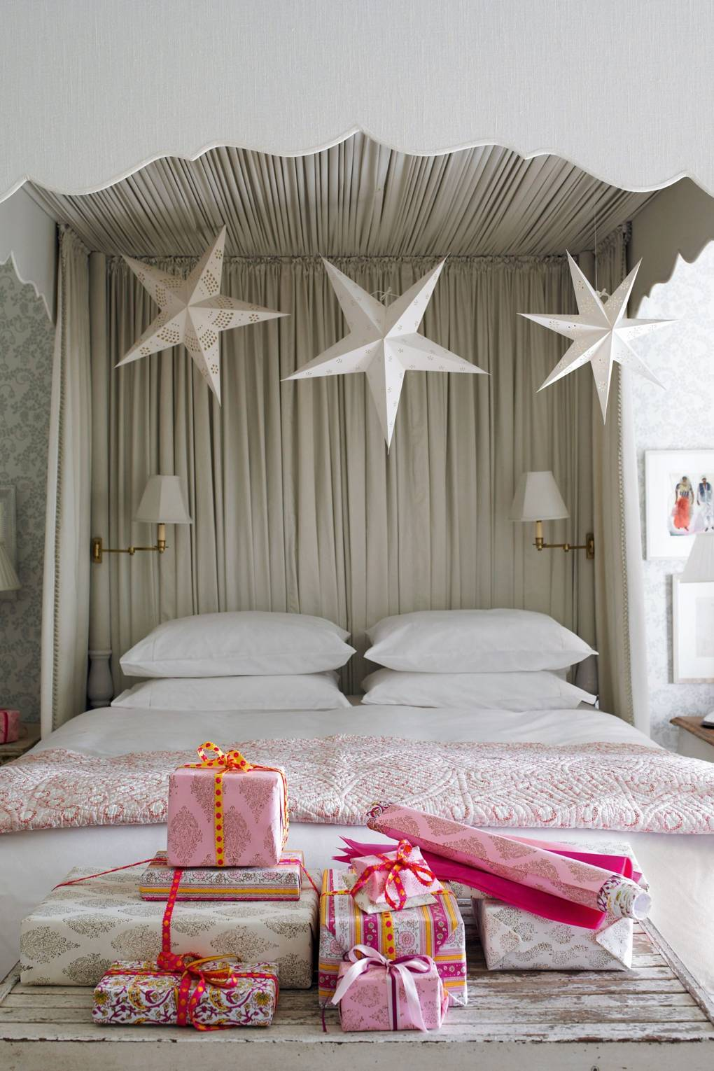 Christmas Bedrooms | Christmas Decorating Ideas | House & Garden