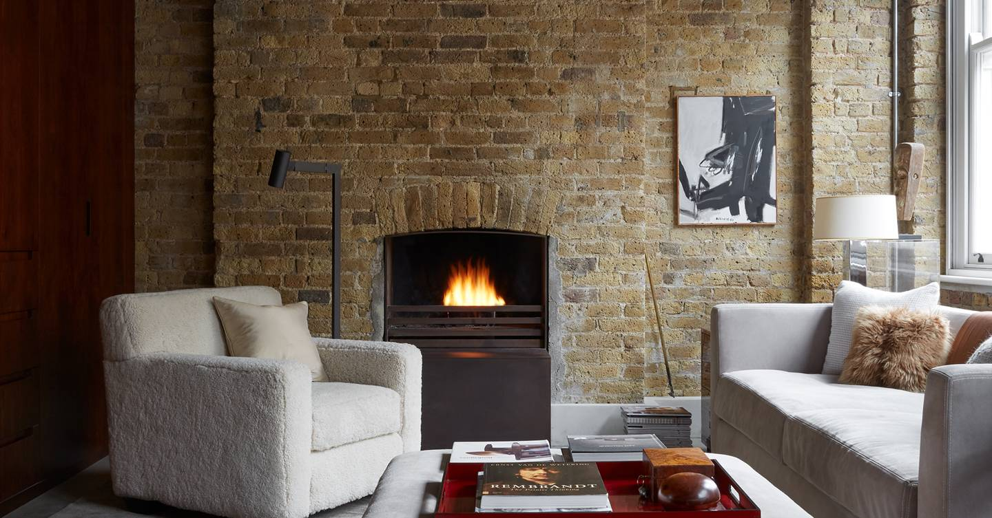 Architect Rients Bruinsma built every element of his loft-style Shoreditch flat from scratch