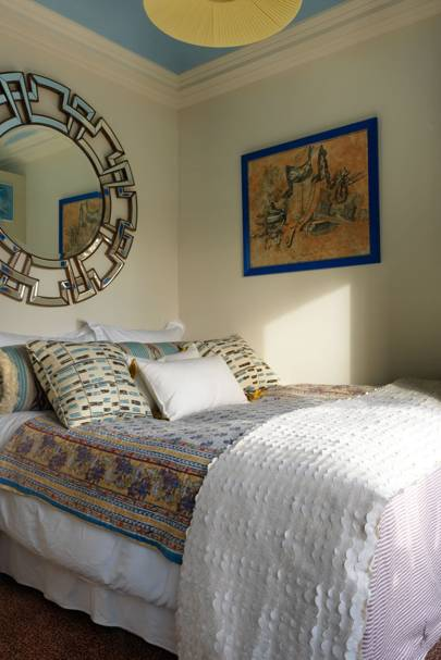 Extremely tiny bedroom Master Bedroom Interior Designer Beata Heumans Earls Court Flat Is Small But Perfectly Formed Firsttime Buyer She Has Transformed The Space On Budget Using House And Garden Uk Small Bedroom Ideas Design And Storage House Garden