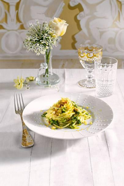 Sicilain Recipes | Italian Recipe Ideas - Spaghetti, Ice Cream, Brioche