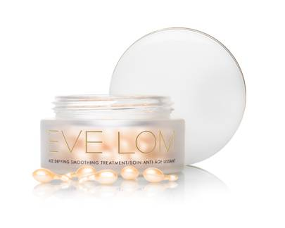 March 2: EVE LOM Age Defying Smoothing Treatment 90 caps, £120.00