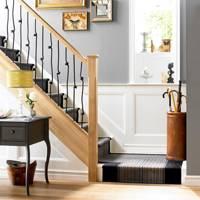 Flatweave Corner Stair Runner