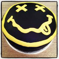 Nirvana Smiley Cake