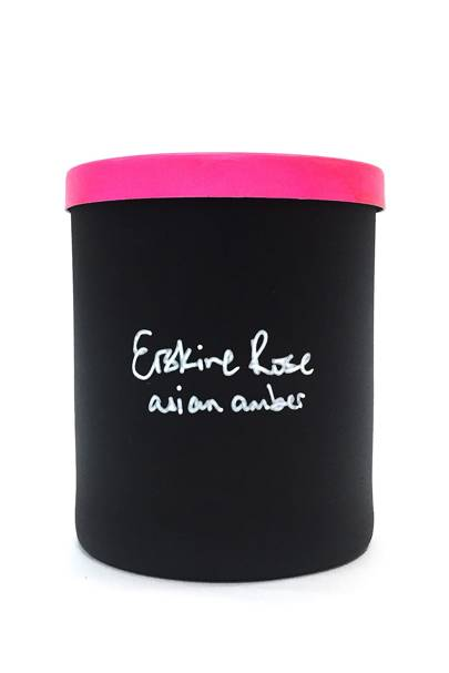 October 11: Erskine Rose Asian Amber Scented Candle, £40