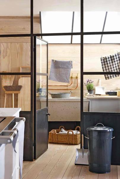 Concealing Storage | Utility Room Ideas