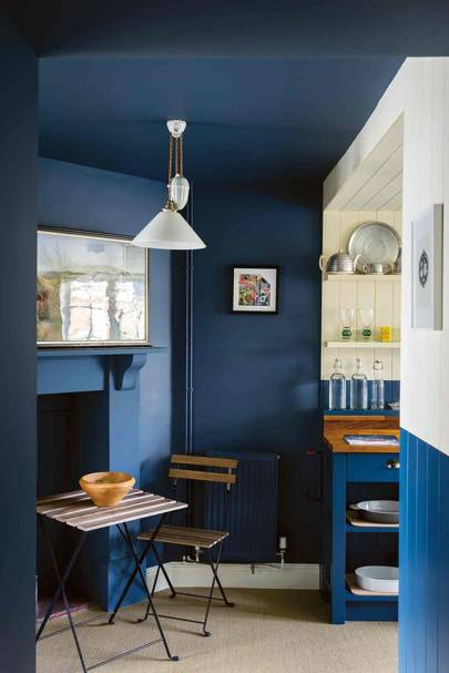 Farrow and Ball colours - stiffkey blue