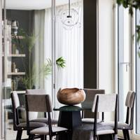 Dining Area - Modern Flat by Sophie Ashby