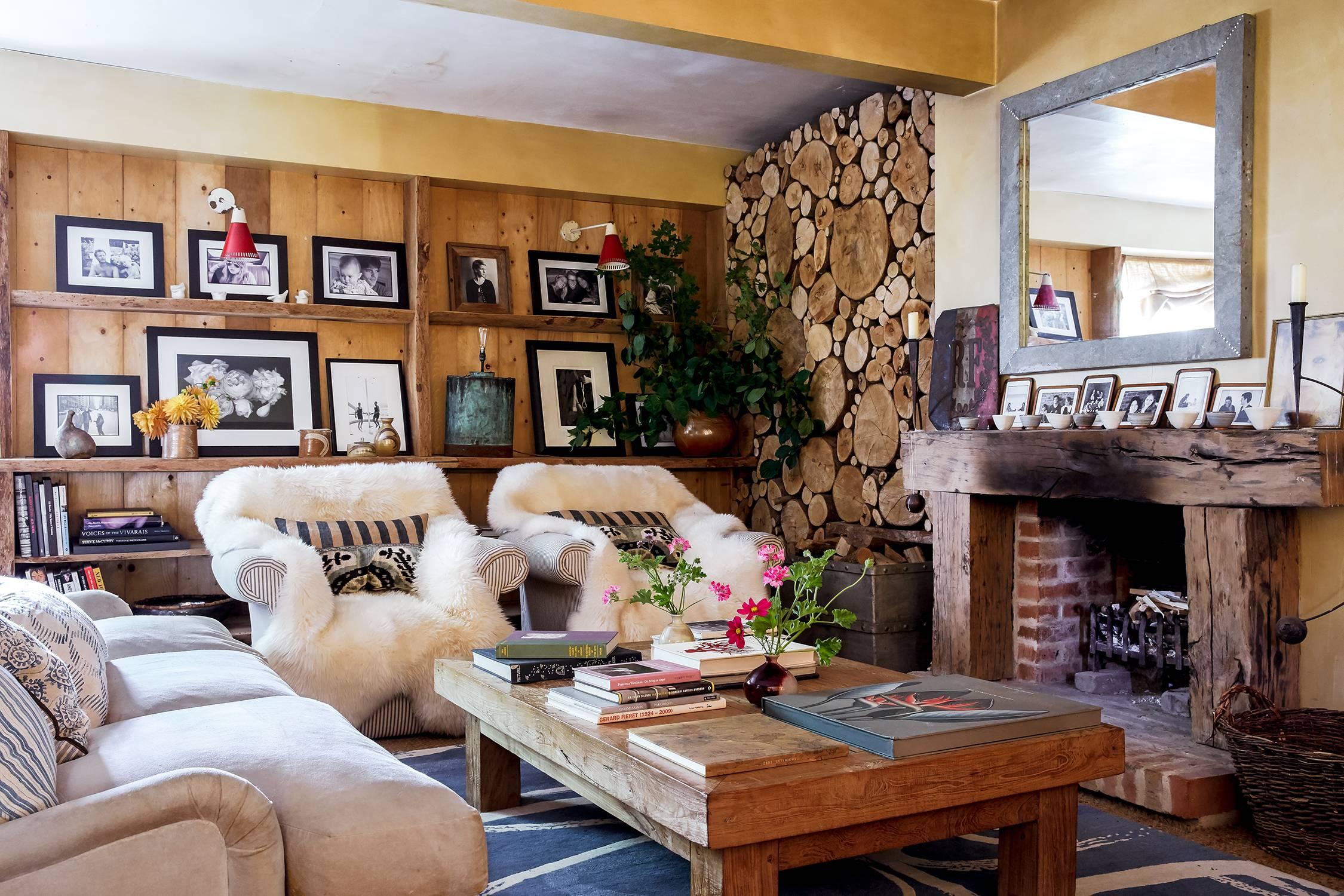 Cottage Interior Design House Garden, Cottage Look Living Room