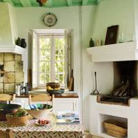 Green Farmhouse Kitchen | Kitchen Design Ideas