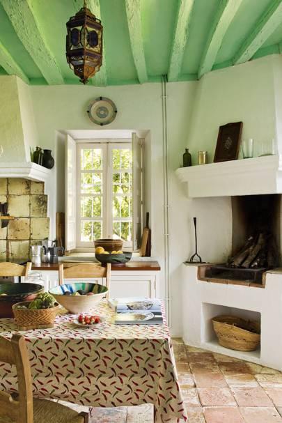 Green Farmhouse Kitchen | Kitchen Design Ideas