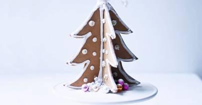 Gingerbread Christmas Tree.Gingerbread Tree