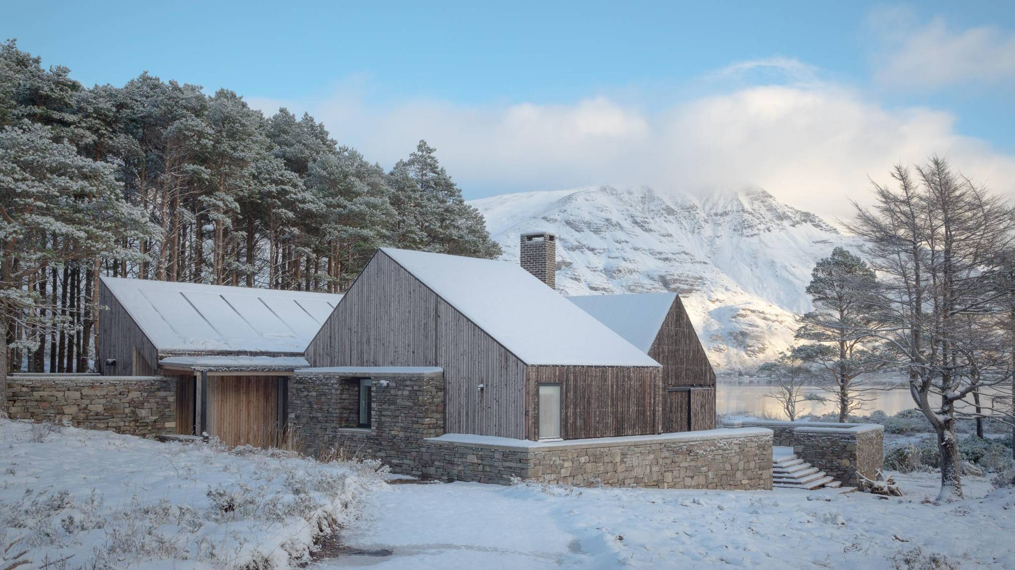 The 2018 RIBA House of the Year is a dreamy off-grid cottage on the edge of a loch
