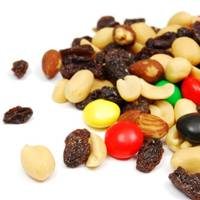 20g Chocolate & Nut Trail Mix = 100 Kcals