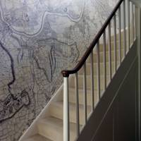 Custom Map Wallcovering