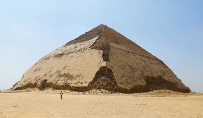 Visitors can now explore hidden tombs inside two newly opened pyramids in ancient Egypt