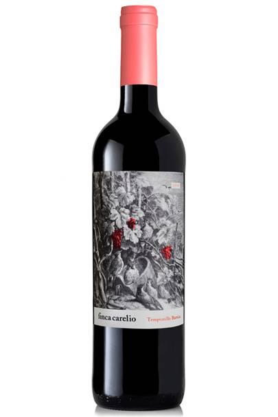 Finca Carelio Tempranillo Barrica, 2014 Vino de la Tierra de Castilla, Spain