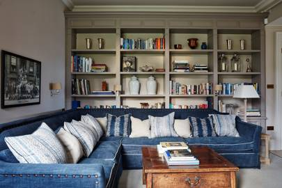 Library - An Elegant House in Surrey