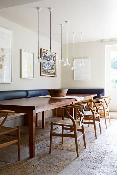 Large Dining Area with Booth | Retrouvius Style File