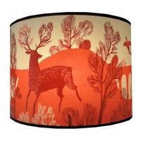 Red Stag Lampshade