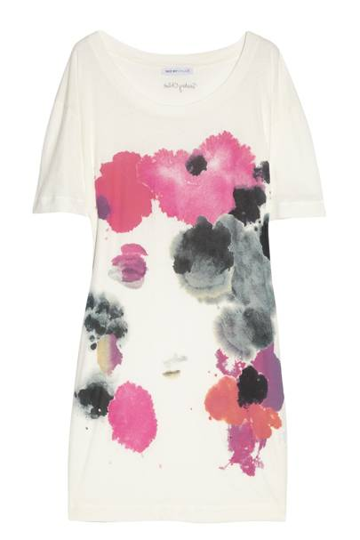 Printed Fine Cotton-Jersey Dress