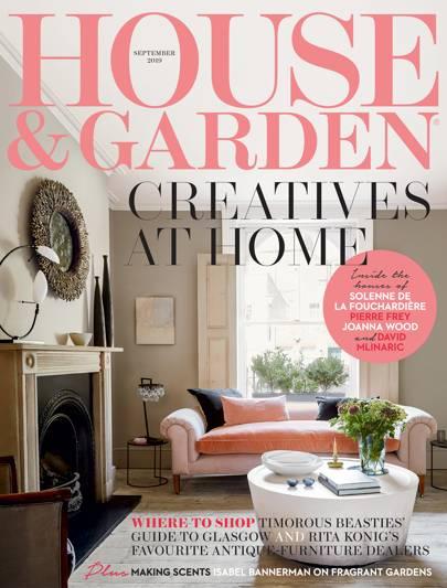 House Garden Magazine September 2019 House Garden