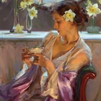Women at tea time