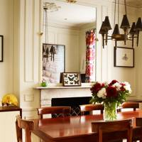 Small Classic Victorian Dining Room