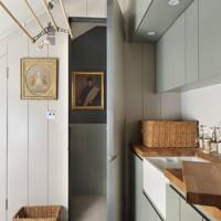 Grey Panelled Utility Room