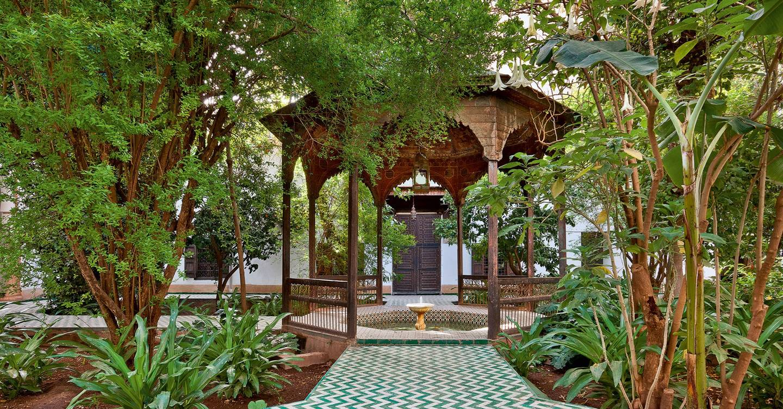 Garden Ideas Small Landscape Gardens Pictures Gallery: Moroccan Gardens - Moroccan Garden Ideas