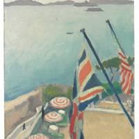 ALBERT MARQUET (1875–1947) Terrasse aux drapeaux, Hôtel de la Réserve
