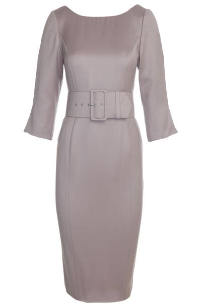 Pearl Grey Grace Dress